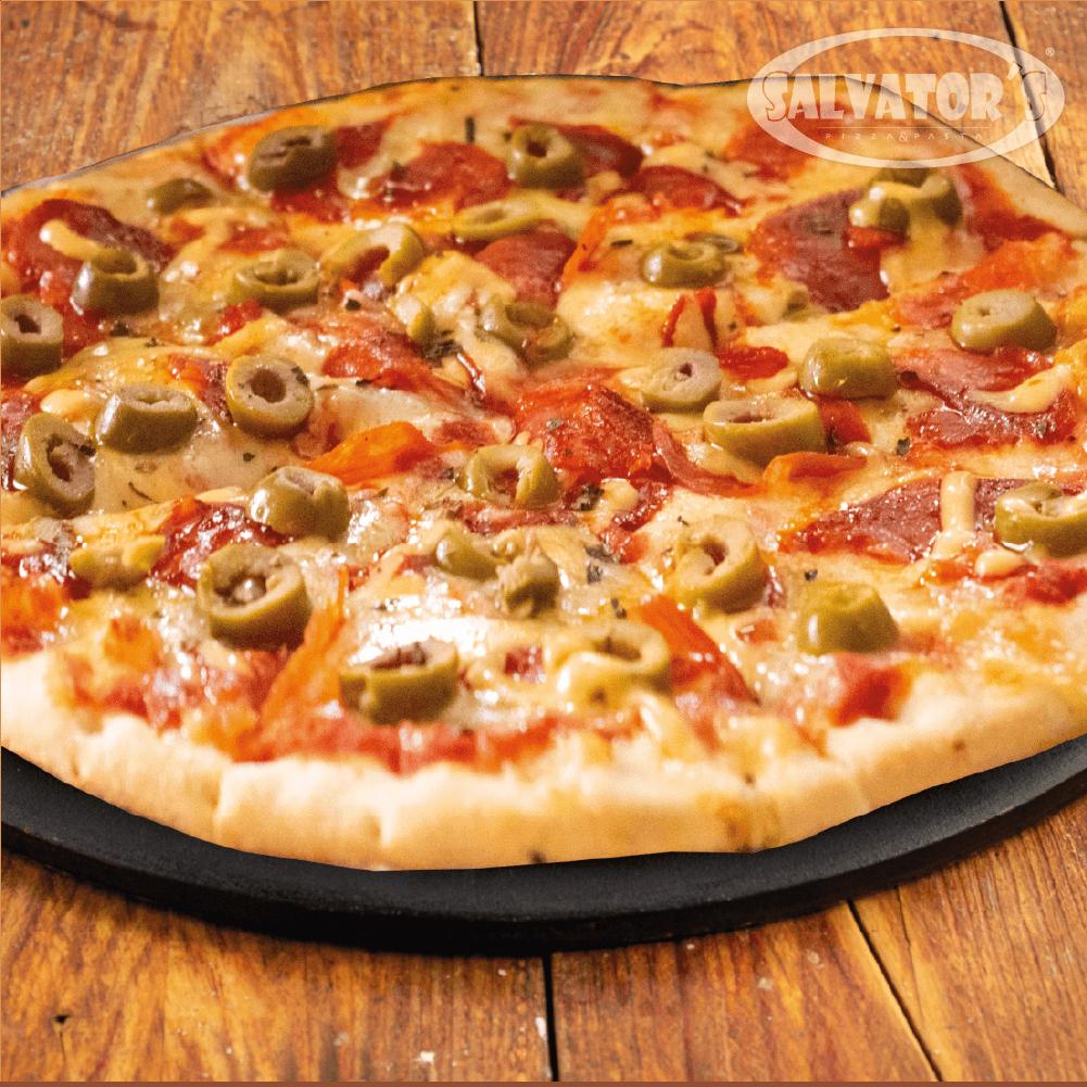 Pizza Time Medium Mediterranea + Bebida