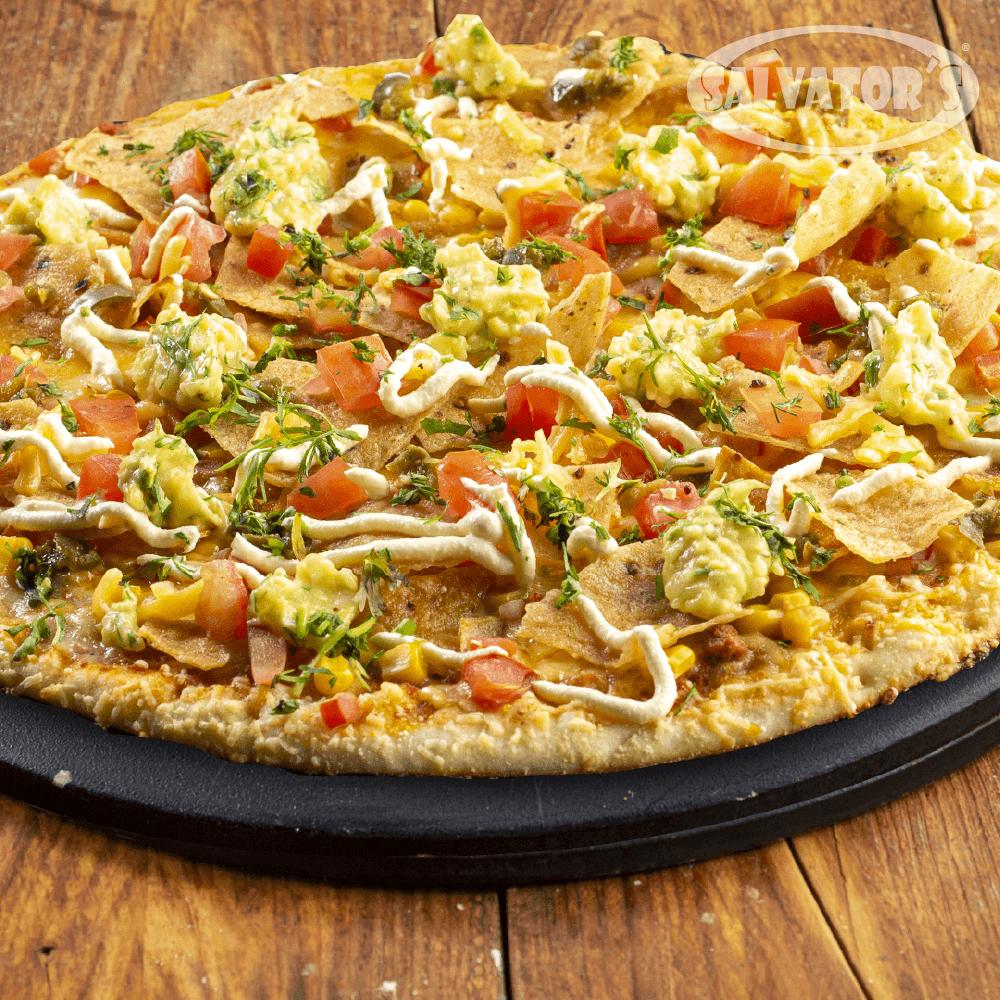 Pizza Time Medium Mexican Style + Bebida