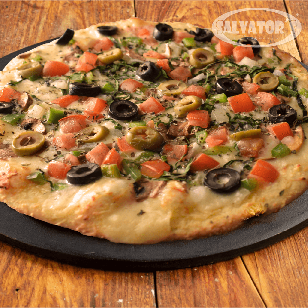 Pizza Time Large Vegetariana + Bebida