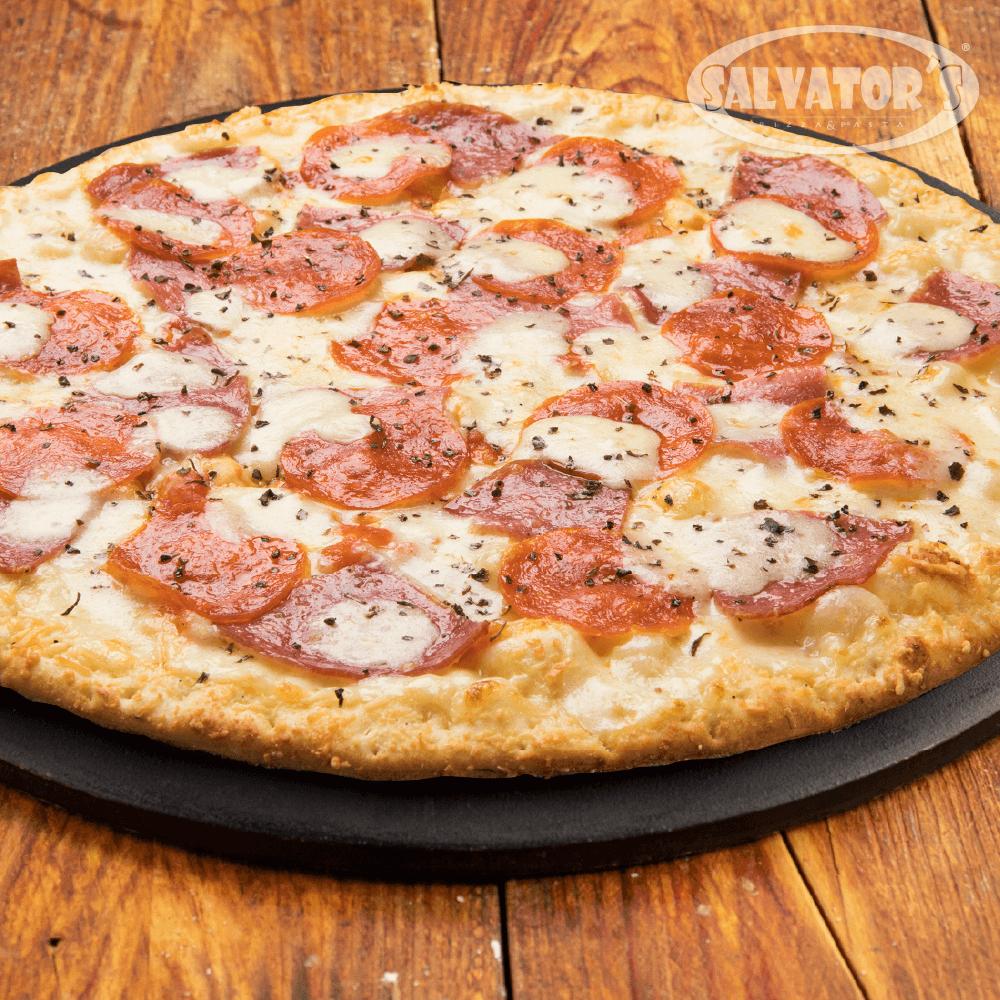 Pizza Time Lover's + Bebida