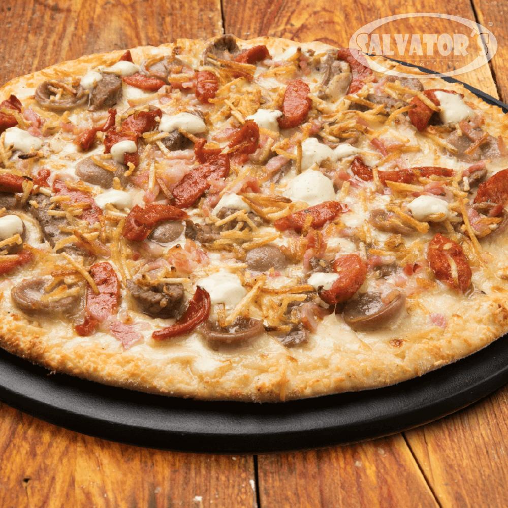 Pizza Time Medium Urbana + Bebida