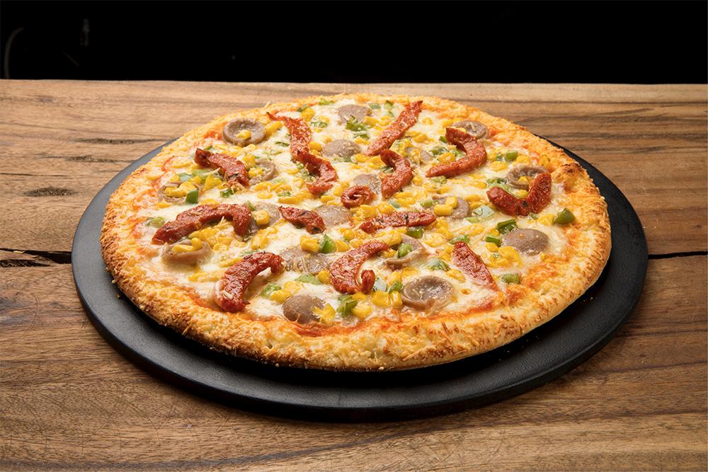 Pizza Time Large Currambera + Bebida