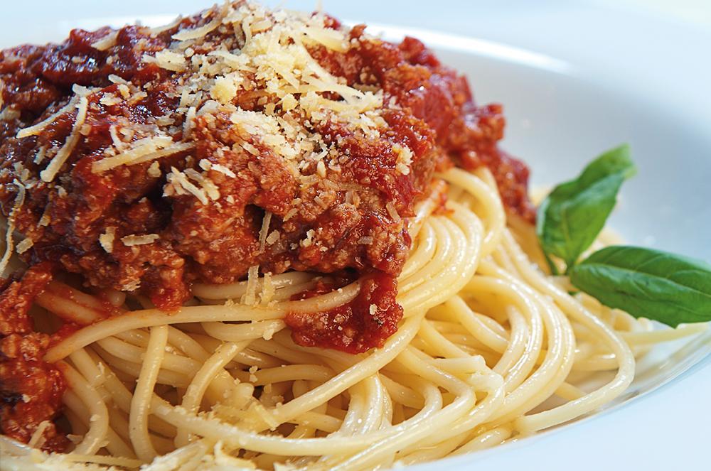 Lunch Time Spaghetti