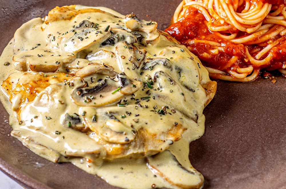 Lunch Time Pollo a la marsala